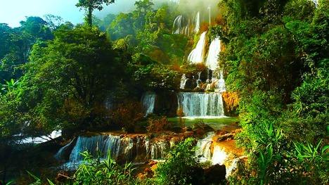 140618ティーロースー滝@ウムパーン野生動物保護区