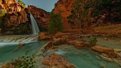 130718ハバス滝@アメリカ アリゾナ州