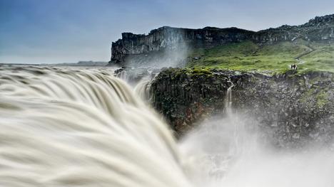 140322デティフォスの滝@アイスランド