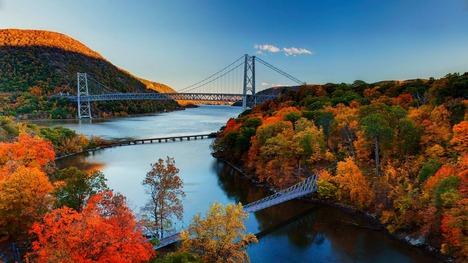 131010紅葉のハドソン川渓谷@アメリカ ニューヨーク州