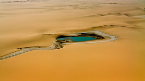 140629サハラの湖@ニジェール サハラ砂漠