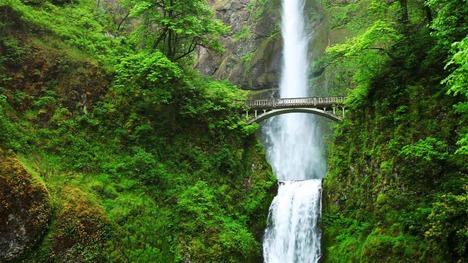 130731マルトノマ滝@アメリカ オレゴン州