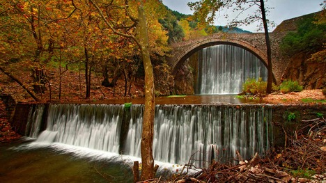 141007パリオカリアス橋@ギリシャ トリカラ