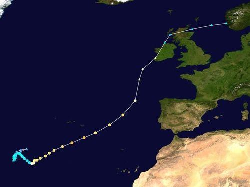 アイルランドに異例のハリケーンが上陸…あまりの珍しさにアイルランドジョークが飛び交う