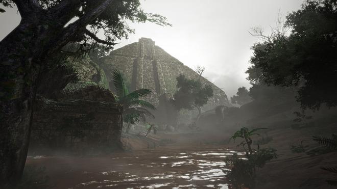 水没林 ピラミッド