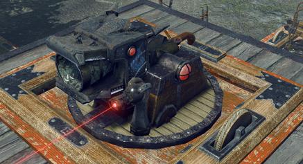 固定式竜炎砲台