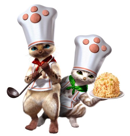 料理 アイルー