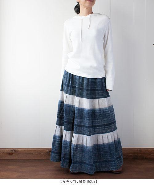 モン族ヘンプスカート