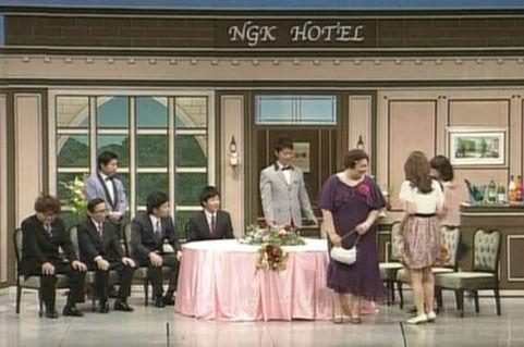 宇和島出身の吉本新喜劇、新人座員「じゃいこ」ねーさんの出演した新ネタ2つが吉本のHPで公開されていて、500票獲得したら舞台で疲労されるそうです。