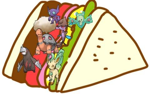 【プリティプリマ】鉢巻レタスサンドイッチ
