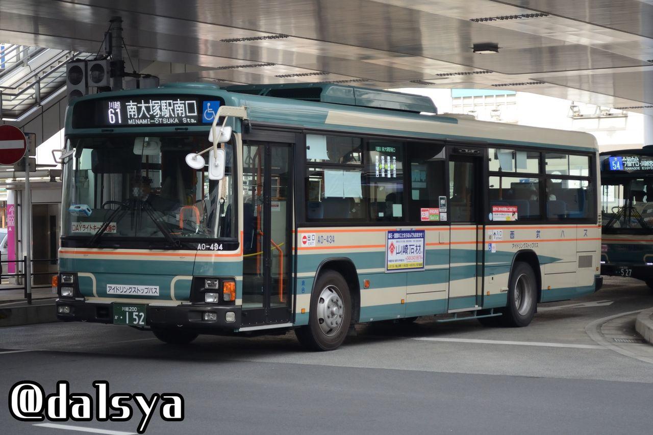 2018.02.28 川越西口バス撮影 : ...