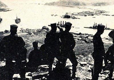 第三軍、 児玉大将総指揮の下・・・二百三高地への総攻撃を開始 (1904 ...