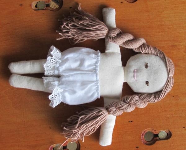 出産祝い着せ替え人形