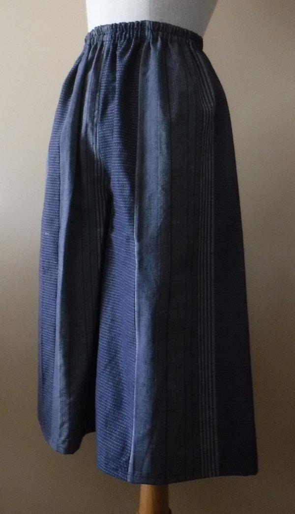 着物からワイドパンツ1032