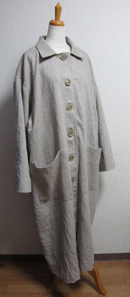 白衣の様なコート