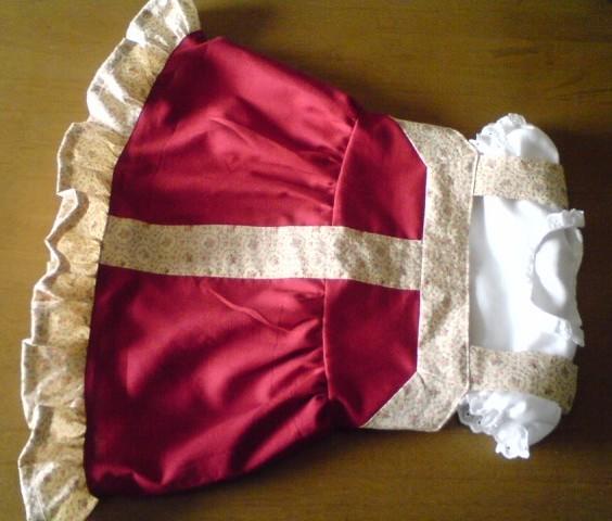 赤ちゃん服サラファン