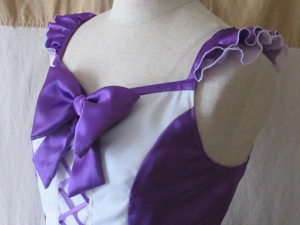 mercicoco 紫胸元