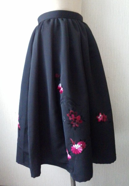 羽織からスカート