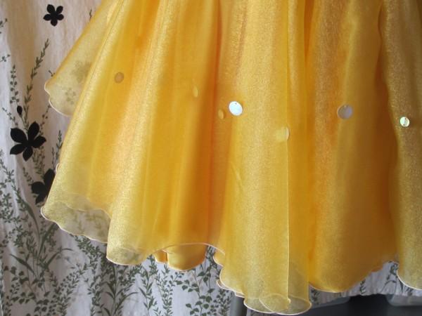 mercicoco 黄色スカート