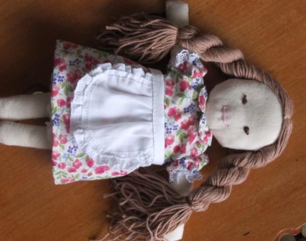出産祝い着せ替え人形服2