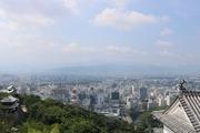 松山城からの風景