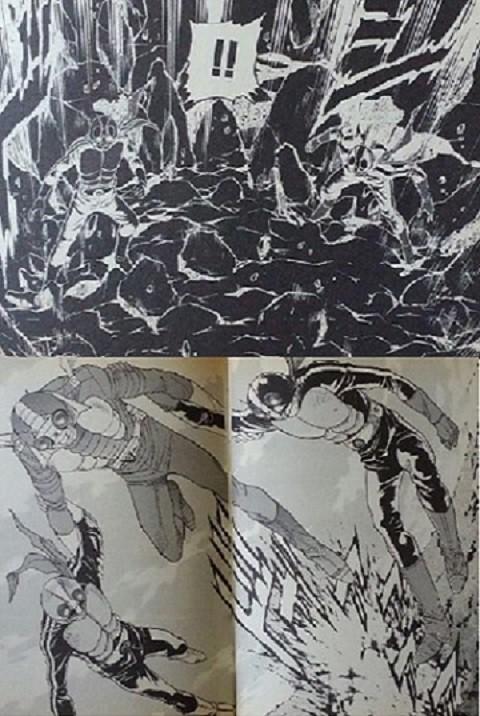 仮面ライダーSPIRITS~暗闇②