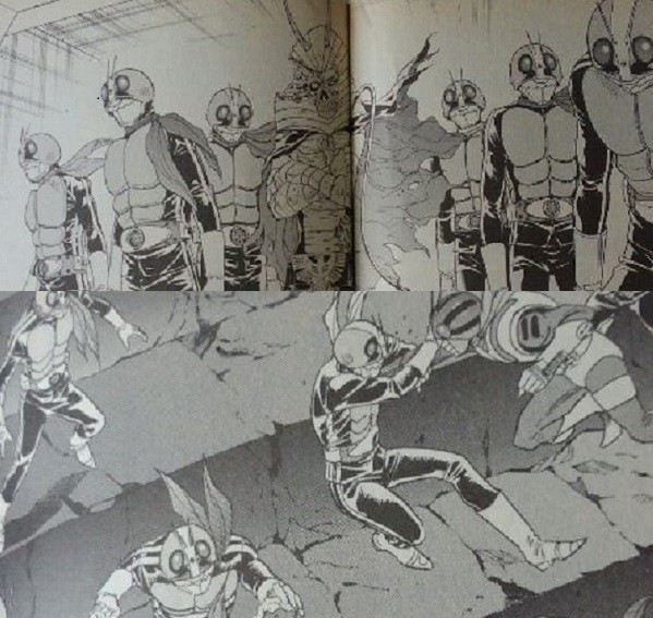 仮面ライダーSPIRITS~侵攻・占領・新宿・大首領③