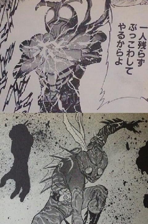 仮面ライダーSPIRITS~暗闇④