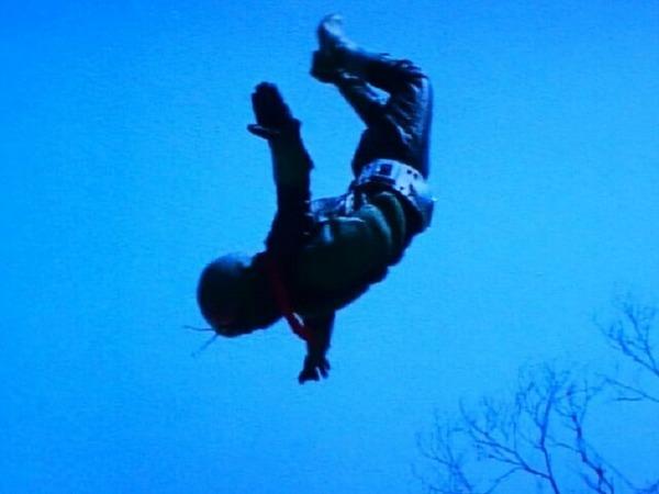 ライダーキック(旧1号)⑦
