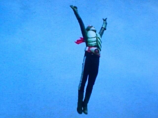 ライダージャンプ~ライダーキック①