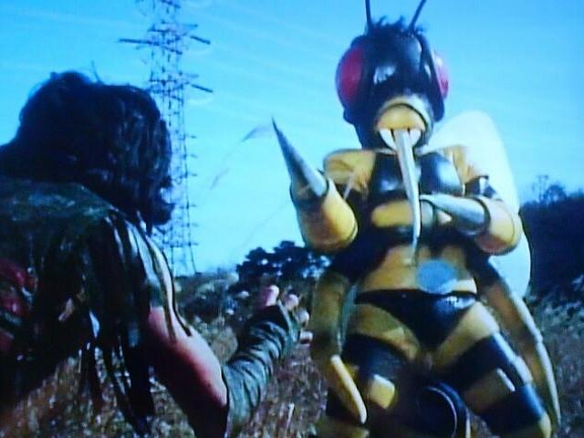 ハチ獣人⑦
