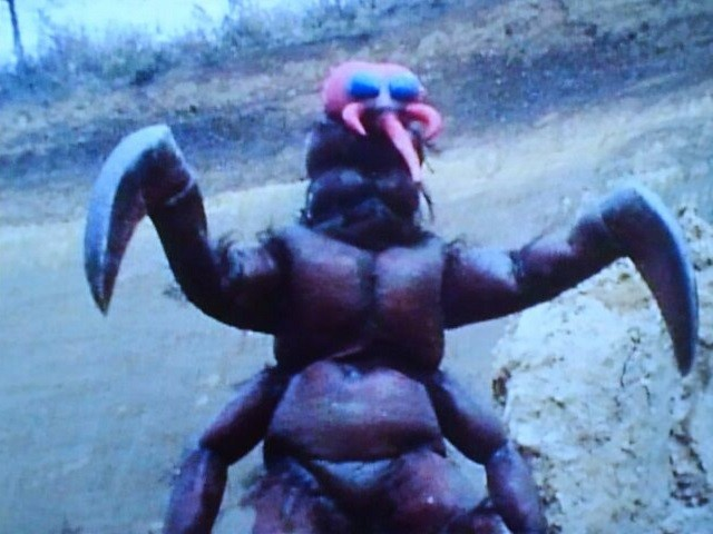 獣人ヘビトンボ(幼虫)④