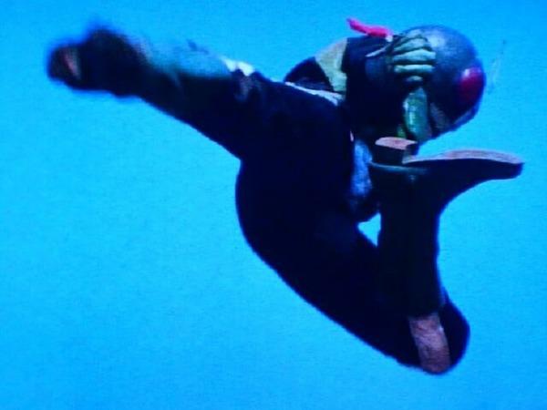 ライダーキック(旧2号)㉑