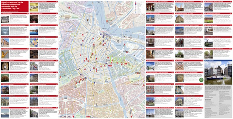 I amsterdam city card 2018 complete map