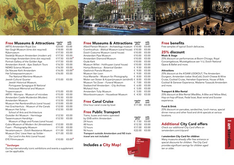 City Card Flyer 2018 EN
