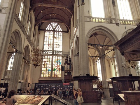 アムステルダム旧教会2