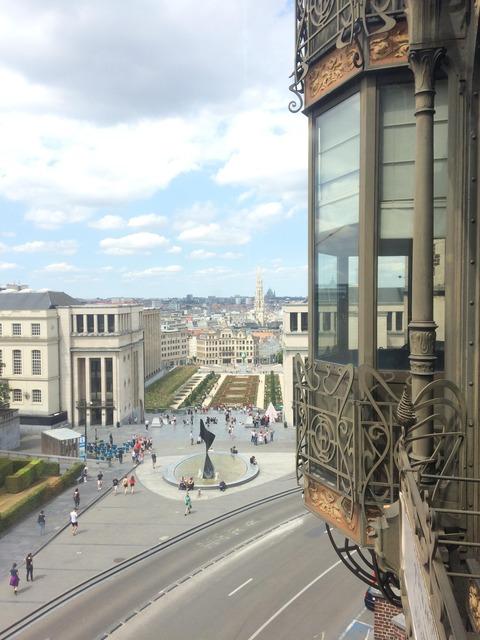 ブリュッセル楽器美術館 眺め