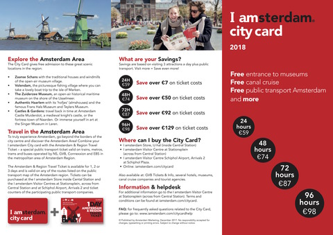 City Card Flyer 2018 EN 1