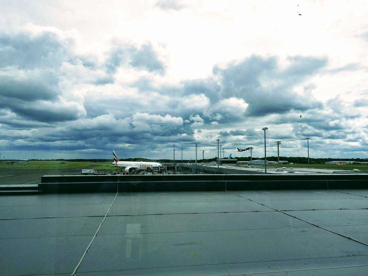 イギリス・ニューカッスル空港っ...