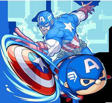 キャプテン・アメリカ_進化
