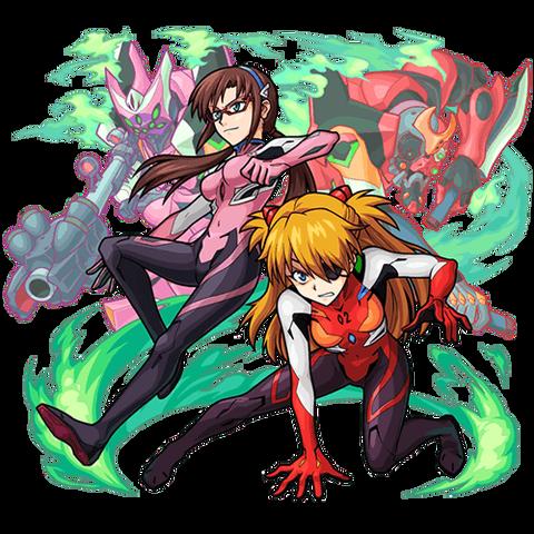 アスカ&マリ_獣神化