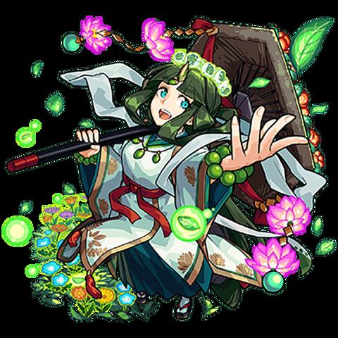 カヤノヒメ_進化