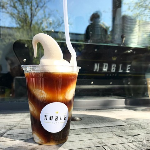 noble coffee float