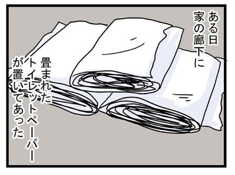 トイレットペーパー事件1