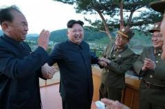 北朝鮮が弾道ミサイル発射、EEZに落下とみられる