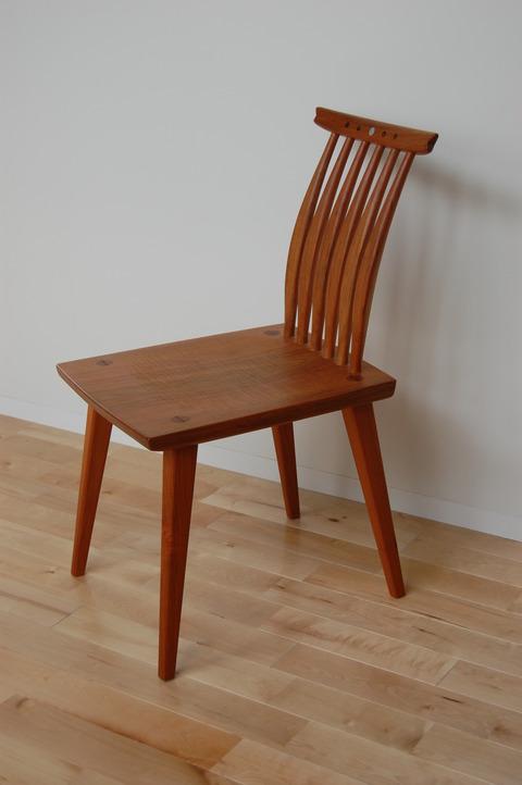 丸テーブル 椅子 さくら  小椅子 胡桃 005