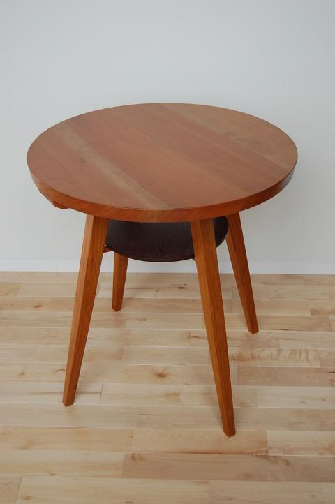 丸テーブル 椅子 さくら  小椅子 胡桃 012