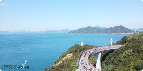 来島海峡大橋のアプローチ橋
