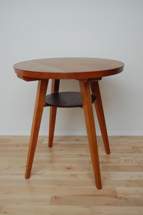 丸テーブル 椅子 さくら  小椅子 胡桃 010