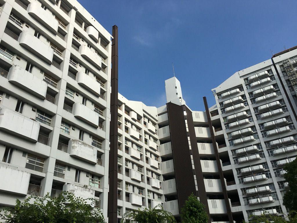ひばりblog基町高層アパート